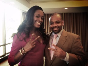 Rob Wilson and Swin Cash