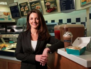 Kat Cole Cinnabon CEO Movers and Shakers Interview with Rob Wilson